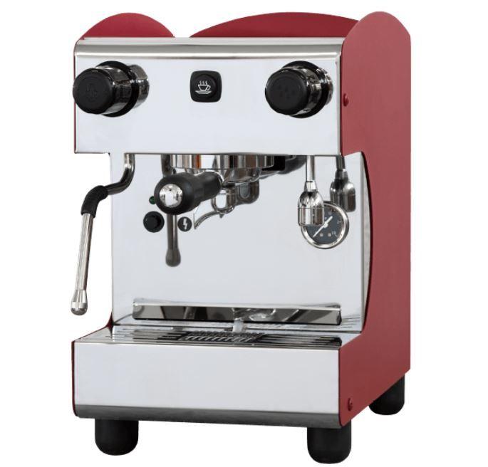 MACCHIAVALLEY 75001R Espressomaschine 12 bar mit Dampfdüse für 799 (statt 900€)
