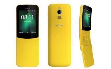 Matrix Kulthandy Nokia 8110 4G (4GB, 512MB RAM) in Gelb für 39€ (statt 52€)