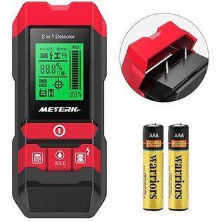 Meterk Multifunktions Ortungsgerät MK55 für z.B. Leitungen oder Feuchtigkeit für 25,89€